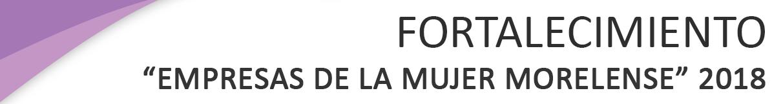 PROGRAMA DE APOYO PARA LA CREACIÓN DE TALLERES DE COSTURA 2018